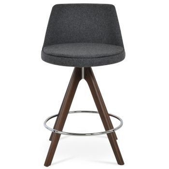 Martini Pyramid Swivel Stool by sohoConcept