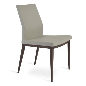 Pasha MW Wood Look Metal Chair by sohoConcept