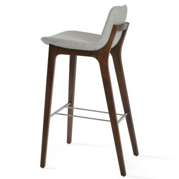 Pera Wood Handle Back Stool by sohoConcept