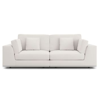 Perry 2 Seat Sofa - Chalk Fabric