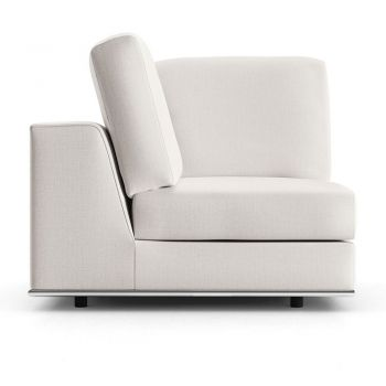 Perry Modular Corner Chair - Chalk Fabric