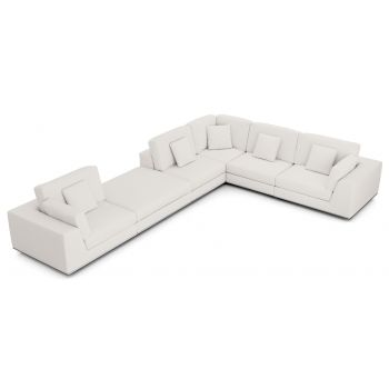 Perry Sectional 2 Arm Corner Extended Sofa by Modloft
