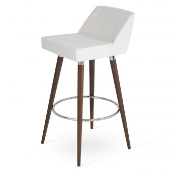 Prisma Wood Stool by sohoConcept