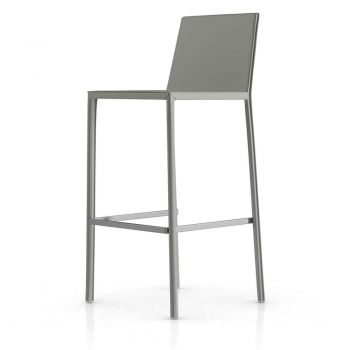 Sanctuary Bar Stool - Grey Reclaimed Leather