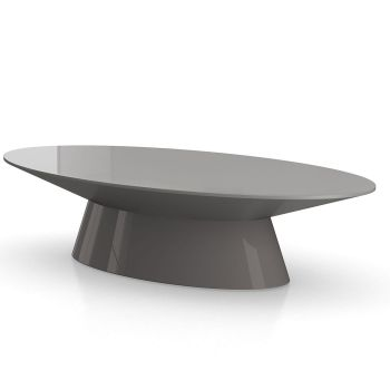 Sullivan Coffee Table - Glossy Dark Gull Gray
