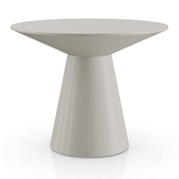 Sullivan Side Table - Glossy Chateau Gray