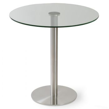 Tango Glass Top Counter Table by sohoConcept
