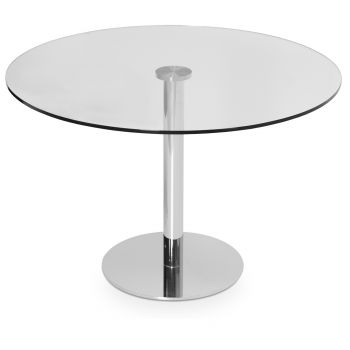 Tango Glass Top Dining Table by sohoConcept