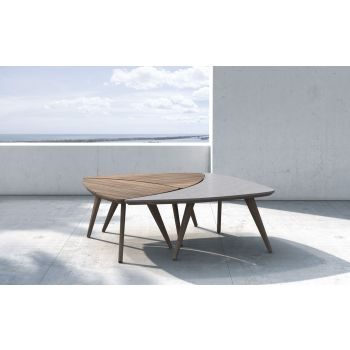 Triplica Outdoor Bunching Tables by Modloft