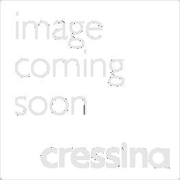 Upton Side Table - Walnut, Interior in Matte Almond Lacquer