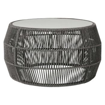 Volta Outdoor Cocktail Table - Shades of Gray Cord
